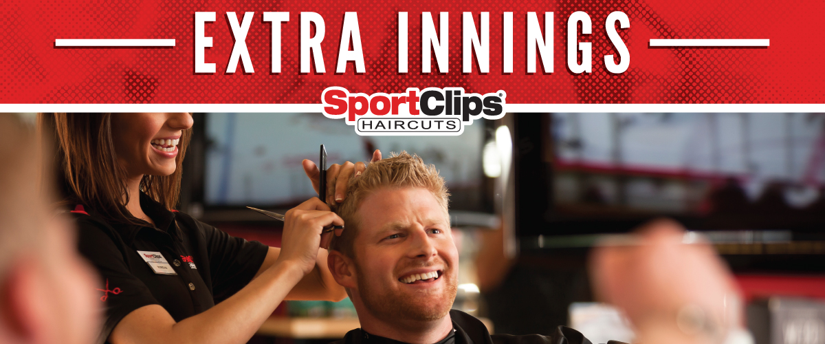 The Sport Clips Haircuts of Benton Extra Innings Offerings